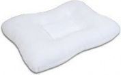 Body Sport Cervical Support Pillow, 60cm X 41cm , Polyester Fibre Fill Helps to Align the Spine in Its Natural Position and Support the Neck