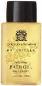 Earlsley & Windsor Botanicals Relaxing Bath Gel Lot of 18 each 35ml bottles. Total of 590ml