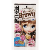 schwarzkopf hair Freshlight Foam Colour Caramel Brown
