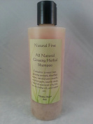 "Natural First Ginseng Herbal ""All Natural"" Shampoo - Chemical, Sls, and Paraben Free"