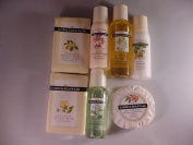 Lord and Mayfair Travel Set Shampoo, Conditioner, Lotion, Shower Gel, 3 Soap
