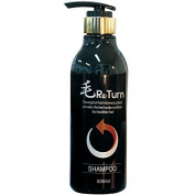 MoReturn Natural Herbal Shampoo , PUMP PET bottle 500ml & Hair Tonic 100ml