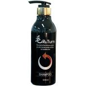 MoReturn Natural Herbal Shampoo , PUMP PET bottle 500ml & Hair Tonic 100ml