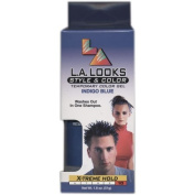L. A. Looks Style & Colour Temporary Colour Gel -X-treme Hold # 10 - Indigo Blue