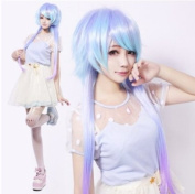 Harajuku Style Cosplay Wig Gradient Dreamful Colourful Lolita Cos Hair