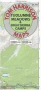 Tuolumne Meadows & High Sierra Camps Trail Map  : Tom Harrison Maps