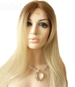 Uniwigs Sweety Futura Synthetic Lace Front Wig, Natural Looking Ombre Blonde Colour