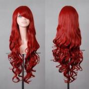 """Tengs Exclusive 32"""" 80cm Spiral Curly Cosplay Costume Wig"""
