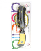 Abella Wave Cushion Brush With Mirror Set
