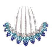 Egelbel Women Jewellery Crystal Rhinestone Barrette Hair Comb Pin
