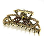 Top Quality Womens Rhinestone X-Large Metal Claw Hair Clip