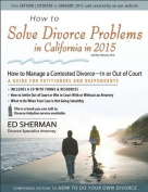 How to Solve Divorce Problems in California in 2015