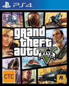 Rockstar Grand Theft Auto V (R18) - PS4