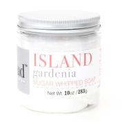 Island Gardenia Sugar Whipped Soap by Naiad Art Soaps