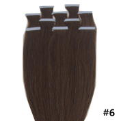 BTArtbox Tape In Hair Extensions, Straight 46cm - 60cm , Colour