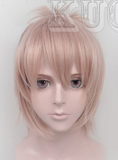 Deadline Circus Len Brother Flesh Pink COS Wig Cosplay Party Hair Full Wig/wigs