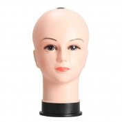 Tenflyer Female Mannequin Head Model Wig Hat Jewellery Display Manikin