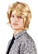 Adult Mens Blonde Boy Band Wig