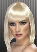 Ladies 20s Blonde Blunt Bobbed Wig