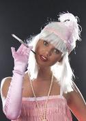 Ladies 20s White Short Glam Blunt Bobbed Wig
