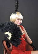 Ladies 1920s Flapper Girl Blonde Babe Wig