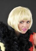 1920s Flapper Girl Blonde Bob China Doll Wig
