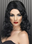 Ladies 20s Black Glamorous Wig