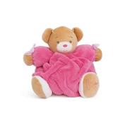 Kaloo Plume Chubby Bear, Raspberry, Medium