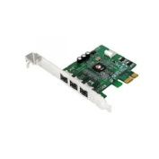 SIIG NN-FW0012-S1 - FireWire adapter - PCIe low profile - FireWire 800 x 3 (NN-FW0012-S1) *