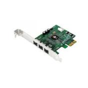 SIIG NN-FW0012-S1 - FireWire adapter - PCIe low profile - FireWire 800 x 3 (NN-FW0012-S1) *