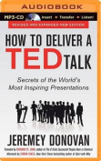 How to Deliver a Ted Talk [Audio]