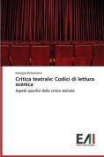 Critica Teatrale [ITA]