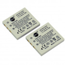 DSTE® 2pcs NP-40 Replacement Li-ion Battery for Fujifilm NP40, NP-40N and FinePix F460, F470, F480, F610, F650, F402, F403, F420, F455, F700, F710, F810, F811, J50, V10, Z1, Z2, Z3, Z5fd DSLR