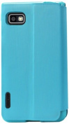 Reiko Fitting Case with TPU Material LG Optimus F3 Ms659 - Retail Packaging - Blue