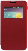 Reiko Fitting Case with TPU Material LG Optimus F3 Ms659 - Retail Packaging - Red