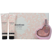 Bebe Sheer 4 Piece Gift Set for Women