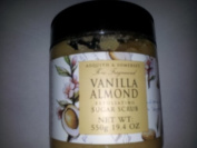 Vanilla Almond Exfoliating Sugar Scrub