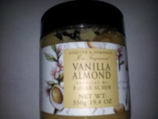 Vanilla Almond Exfoliating Sugar Scrub