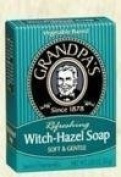 Grandpa's Witch-Hazel Soap Soft and Gentle, 100ml