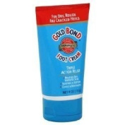 Gold Bond Foot Cream, Triple Action Relief, 120ml