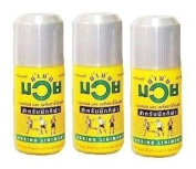 3 x 120ml Authentic Original Namman Muay Thai Boxing Oil Liniment Muscle Pain Relief
