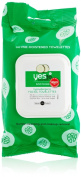 Yes To Cucumber Hypoallergenic Facial Towelettes, 30 Count
