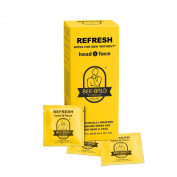 Bee Bald REFRESH individual wipes