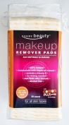 Every Beauty 100% Natural Cotton Dry Facial Makeup Remover Pads with Argan Oil - 50ct