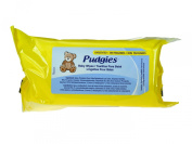 Pudgies Soft Thick Baby Wipes 72 Count