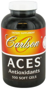 Carlson by :Aces Antioxidant Formula- Vitamins A,C,E plus Selenium --300 soft gels
