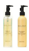 Skinn Cosmetics SUPERSIZE Cleansing System - 250ml one EACH AM and PM Cleansers
