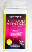 Every Beauty 100% Natural Cotton Dry Facial Makeup Remover Pads with Aloe - 50ct