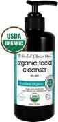 Herbal Choice Mari Organic Facial Cleanser Dry Skin 200ml/ 6.8oz Pump