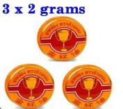 6 g Golden Cup Balm muscular pain headache aches relief natural Thailand Thai
